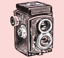 Rolleicord Twin Reflex Camera Kids Tee