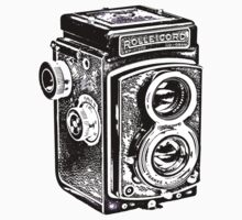 Rolleicord Twin Reflex Camera One Piece - Long Sleeve
