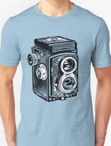 Rolleicord Twin Reflex Camera Unisex T-Shirt