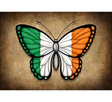 Irish Flag Butterfly Photographic Print
