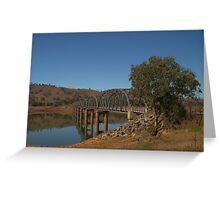 Bethanga bridge Greeting Card