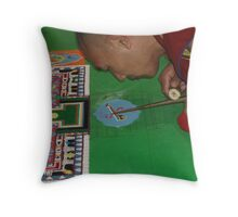 Concentration 3 Throw Pillow