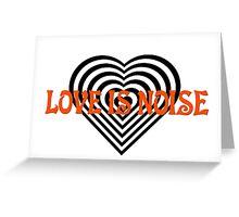 Love Heart Kiss Music Lyrics Rock Song Greeting Card