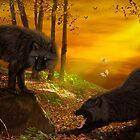 Wolf Forest by JaneEden