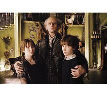A Series of Unfortunate Events Trio Photographic Print