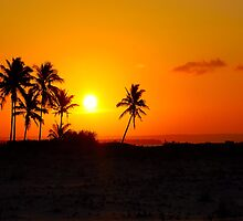 """PARADISE ! - THE """"PERFECT"""" SUNSET ON A MOZAMBIQUE BEACH by Magriet Meintjes"""