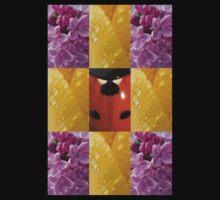 T-shirt: Ladybug In Flowers - nancypics by Nancy Lovering