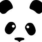 Giant Panda face less black patches by SofiaYoushi