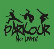 Parkour - No Limits Kids Tee