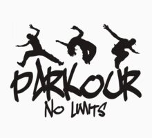 Parkour - No Limits Kids Tee