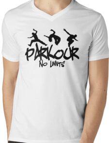 Parkour - No Limits Mens V-Neck T-Shirt