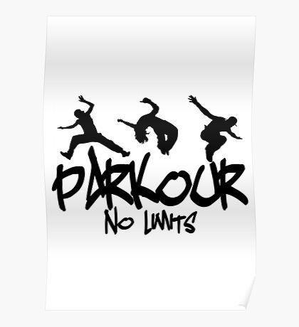 Parkour - No Limits Poster