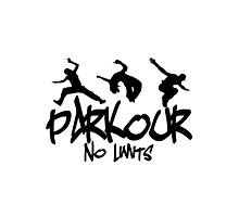 Parkour - No Limits Photographic Print