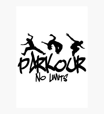 Parkour - No Limits Photographic Print
