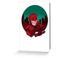 Your Friendly Neighborhood Vigilante Greeting Card
