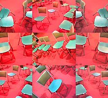 chairs by Soxy Fleming