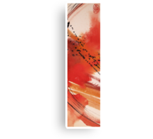 RED WAVE Canvas Print