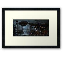 Dropship Framed Print