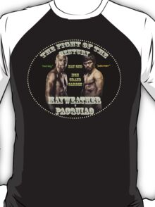 Mayweather VS Pacquiao - Fight Of The Century #2 T-Shirt