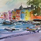 The Italian Riviera..... by Jean Cowan
