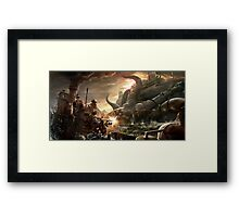 Steampunk Octopus Framed Print