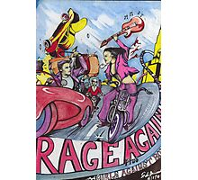 RAGE AGAINST THE MACHINE POSTER ( Plus Girls Against Boys ) Photographic Print