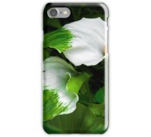 Green Godess Calla Lily iPhone Case/Skin