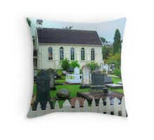 The little Church filled with history.......! Throw Pillow