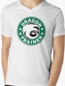 Dragon trainer Mens V-Neck T-Shirt
