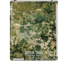 Denton Texas Map iPad Case/Skin