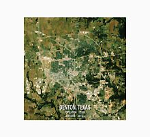 Denton Texas Map Unisex T-Shirt
