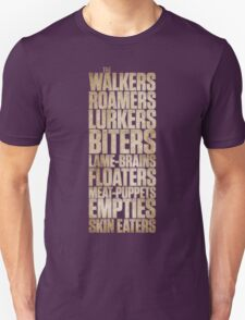 The Walking... Unisex T-Shirt
