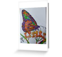 Spectra Nectar by Asra Rae Greeting Card