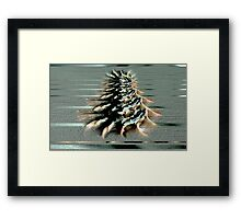 Beach Collage 3 Framed Print