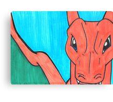 Pokemon Charzard Canvas Print