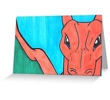 Pokemon Charzard Greeting Card