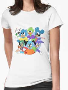 Toontown Womens Fitted T-Shirt