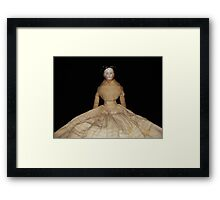 """Violet"" from the 1880's Framed Print"