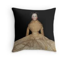 """Violet"" from the 1880's Throw Pillow"