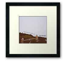 Caddywhompus - The Weight Framed Print