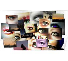 Eye Collage Poster