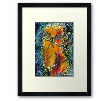 The Stand-off Framed Print