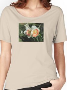 Twin Daffodils ~ Women's Relaxed Fit T-Shirt