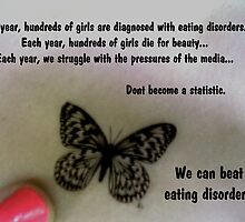 Beat Eating Disorders by visualmetaphor