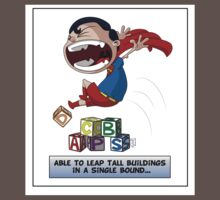 Look its a Bird! - Leaping tall buildings Kids Clothes