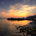 Portpatrick Harbour at Sunset by derekbeattie