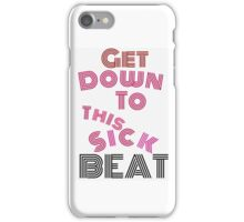 This sick beat Taylor swift iPhone Case/Skin