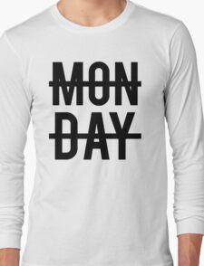 Niall Horan Monday Design Long Sleeve T-Shirt