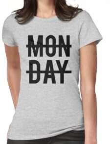Niall Horan Monday Design Womens Fitted T-Shirt