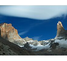 Chilean moutains Photographic Print
